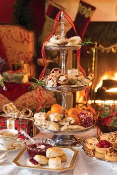 A Joyful Holiday Tea - victoriamag.com