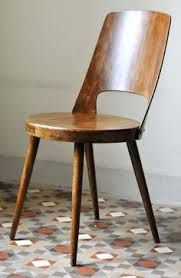 Oswaldt Haerdtl for Thonet, Furniture Inspiration, Interior Inspiration, Side Chairs, Dining Chairs, Home Furniture, Furniture Design, Take A Seat, Teak, Mid-century Modern