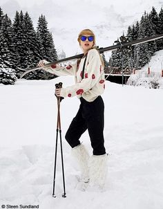 photo ski chik on pinterest ski vintage ski and ski fashion. Black Bedroom Furniture Sets. Home Design Ideas