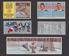 1972 Post Cereal Bobby Orr Hockey Action Transfer #4 McKenny/Giacomin Vtg NHL in…