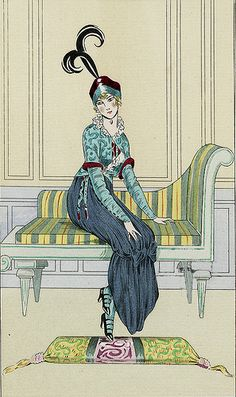 Illustration from La Belle Epoque. Edwardian Clothing, Edwardian Era, Edwardian Fashion, Vintage Fashion, French Fashion, Victorian, Vintage Illustration Art, Art Deco Illustration, Mode Vintage