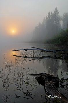 Foggy September morning
