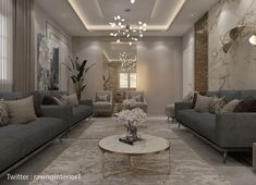 Gray And Taupe Living Room, Grey Room, Marble Tables, Gold Marble, Living Room Decor, Sweet Home, Decor Ideas, Decorating, Coffee