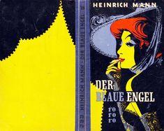 rororo #35, Heinrich Mann, Der blaue Engel, 1951. Cover: Gröning, Karl jr. Pferdmenges, Gisela