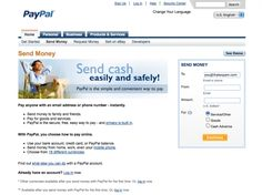 Howto Create Link To Sent Money Via Paypal Andy Blyler