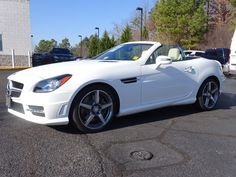 2015 Polar White Mercedes-Benz SLK-Class - Richmond.com: Convertible