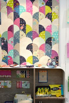 Modern Handcraft - Fall Quilt Market 2014 // Cotton + Steel