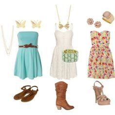 Cute Swag Outfits for Teens | Cute Summer Dresses :) | We Heart It