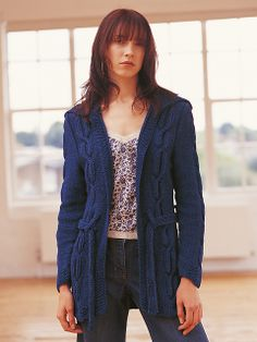 Now in the Ravelry Rowan online pattern store: Haven Cardigan pattern by Kim Hargreaves