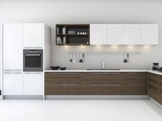Patterned Kitchen Tiles #walltiles #3dtiles #walldecor
