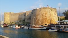 Cyprus Kyrenia Castle photo by:@bilalhan01