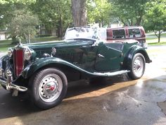 1000+ images about MG TC, TD, TF on Pinterest | Coupe ...