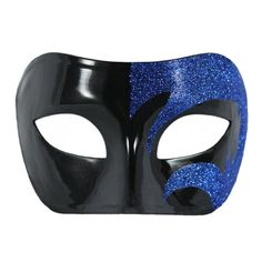 Blue and Black Masquerade Mask For Men #MasqueradeMaskForMen #mask #Masquerade