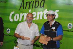 En su visita a Casa de Gobierno Krujoski agradeció el apoyo del Gobierno Provincial #ArribaCorrientes