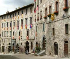 Italy, Gubbio (Umbria)