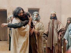 Free Visuals:   Jesus delivers a mute man from his affliction and is accused of using power from the devil. Matthew 9:32-34, Luke 11:14-23