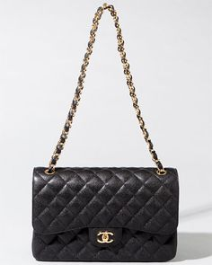 Chanel Jumbo Black Caviar Quilted Classic 2.55 Double Flap Bag Buy Chanel  Bag, Luxury Handbags 6c04d56143