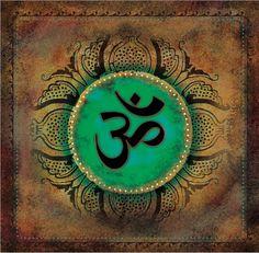 Mystic Oneness Canvas Print - Abstract Art by Tara Catalano Om, Sanskrit, Meditation, Yoga Mandala Drawing, Mandala Art, Hippie Festival, Namaste, All God Images, Om Art, Religion, Shiva Wallpaper, Meditation Art
