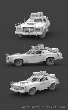 Vehicles 2014 - 2015 on Behance Post Apocalypse, Mad Max Trailer, Low Poly Car, Hot Rods, Death Race, Expedition Vehicle, Modified Cars, Armored Vehicles, Future Car