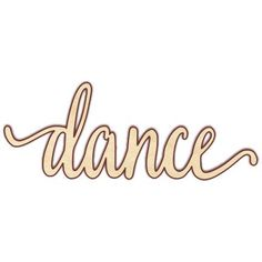 dance wood sign makes a great wreath sign or wall hanging for your favorite…