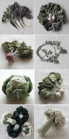 jung jung I love your softie vegetables. Crocheted veggies by Jung Jung <3