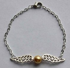 Golden Snitch Bracelet, $7.00 | 56 Totally Wearable Harry Potter-Themed Accessories