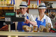 Liam and Christine Uniform Dress, Panama Hat, Captain Hat, Panama