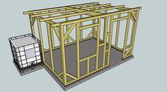 Je vous présente ici les différentes étapes de la réalisation de mon abri de jardin: Les plans se trouvent ici => www.dropbox.com/... Tout d\'abord la conception du plan faites avec Google Sketchup 7 Le projet est...
