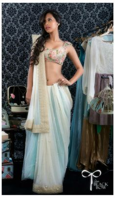 Perfect saree fr the brides friends