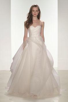 Tulle ballgown wedding dress | 'Erin' nouvelle Amsale wedding dresses