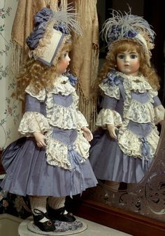 "Bru Jne 11 ""Danielle"". I know that you hate dolls, but this one is cute and it is named after you. DB"