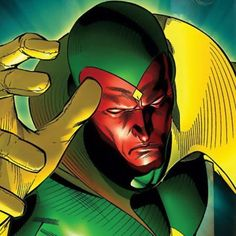 The Vision Marvel Comics | The Heroic Universe Carter Newberry, Author at The Heroic Universe ...