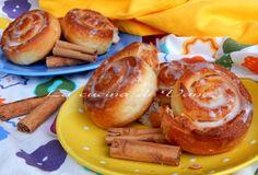 cinnamon rolls girella alla cannella ricetta per brioches morbide, profumate e golose ottime dalla colazione alla merenda. ricetta lievitato goloso