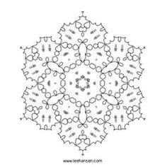 star of david mandala design coloring page