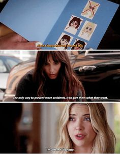 And the reaction of spencer was priceless! Watch Pretty Little Liars, Preety Little Liars, Netflix Series, Tv Series, Pll Memes, Secrets And Lies, Pll Cast, I'm Still Here, Youre Mine