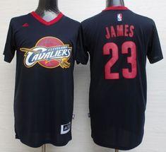 Cavaliers  23 LeBron James Black Short Sleeve Fashion Stitched NBA Jersey  Retro Nba Jerseys 2adc432b6
