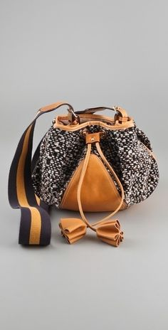 M Missoni Boucle Cross Body Bag - StyleSays