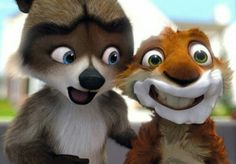 Just when it seemed like the computer animation genre was losing some steam, Over the Hedge comes along and gives it a well-deserved boost. 3d Animation Wallpaper, Computer Animation, Animation Film, Disney Animation, Disney Pixar, Dreamworks Animation, Disney Films, Funny Character, Favorite Cartoon Character