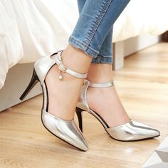 Heel Height: 8 cm Platform Height: - cm Size Note: We send CN size, if your foot is a little wide and fat, we suggest you choose 1 size larger. Size Guide: Euro/CN 34 = US 3 = 22cm (Foot width=8-8.5cm) Euro/CN 35 = US 4 = 22.5cm (Foot width=8.5cm) Euro/CN 36 = US 5 = 23cm (Foot width=8.5-9cm Euro/CN 37 = US 6 = 23.5cm (Foot width=9cm) Euro/CN 38 = US 7 = 24m (Foot width=9-9.5cm) Euro/CN 39 = US 8 = 24.5cm (Foot width=9.5cm) Euro/CN 40 = US 9 = 25cm (Foot width=9.5-10cm) Euro/CN 41 = US 10…
