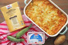 Easy Quiche, Quiche Lorraine, Greek Recipes, Macaroni And Cheese, Zucchini, Main Dishes, Recipies, Ethnic Recipes, Food
