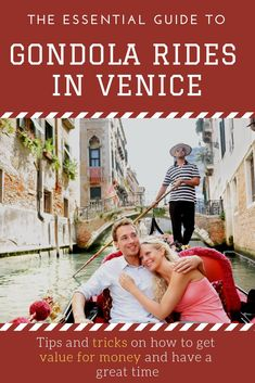 Gondola Rides in Venice: The Essential Guide Getting a Gondola in Venice Italy is a must for any tourist visiting the city. This guide will walk you through how you can get the most out of your gondola ride and not get ripped off. Glamping, Italy Destinations, Italy Travel Tips, Travel Europe, Things To Do In Italy, Venice Travel, Venice Italy, Gondola Venice, Verona Italy