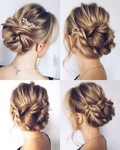 Wedding Bun Hairstyles With Veil