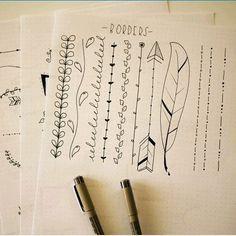 Dividers | #journaling #dividers #VerticalDividers