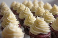 Moist red velvet cupcake recipe from scratch with cream cheese frosting. Nordstrom; photo by Jeff Powell.