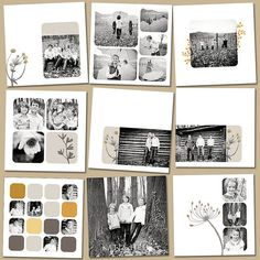 Note to self - layout idea for pics' of Em from Oct. #PhotoAlbum