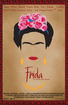 Frida Kahlo Movie Poster on Behance