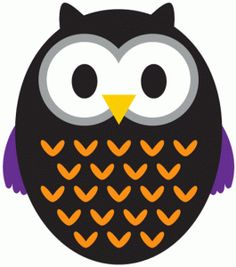 Silhouette Design Store - Free Design of the Week #67234: halloween owl