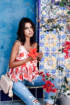VivaLuxury - Fashion Blog by Annabelle Fleur: GIRLFRIEND JEANS & PRETTY TILE MOMENTS