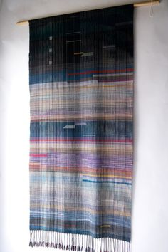 Wall hanging hand woven