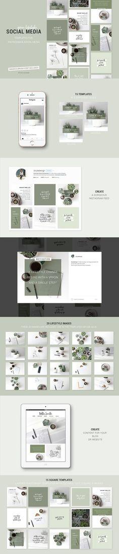 INTRO SALE Social Media templates by Skyla Design on @creativemarket